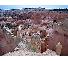 Rock Formations at Bryce Canyon Photographic Print
