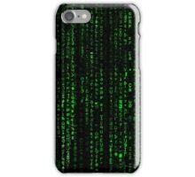 Matrix Pattern iPhone Case/Skin