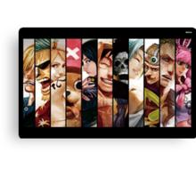 One Piece Straw Hat Gang Canvas Print