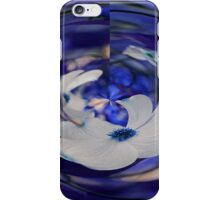 Dogwood in Blue iPhone Case/Skin