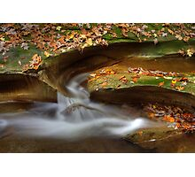 Fall Creek Gorge - Water Slide Photographic Print