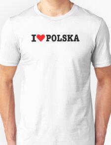 I love Polska Unisex T-Shirt