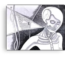 obituary Canvas Print