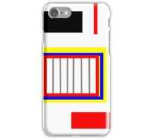 Primary color abstract design, gifts and decor iPhone Case/Skin