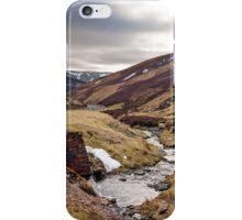 Mennock Pass, Scotland iPhone Case/Skin