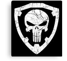 Punisher Crest Canvas Print