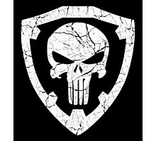 Punisher Crest Photographic Print