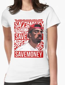 VIC MENSA CHANCE SAVE MONEY Womens Fitted T-Shirt