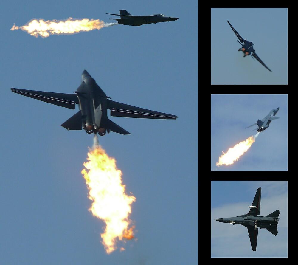 F-111 Dump & Burn by Tim Everding