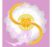 Spinning Senshi (Serenity) Photographic Print