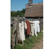 Laundry Day Photographic Print