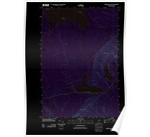Maine USGS Historical Map Farrow Mountain 20110829 TM Inversion Poster