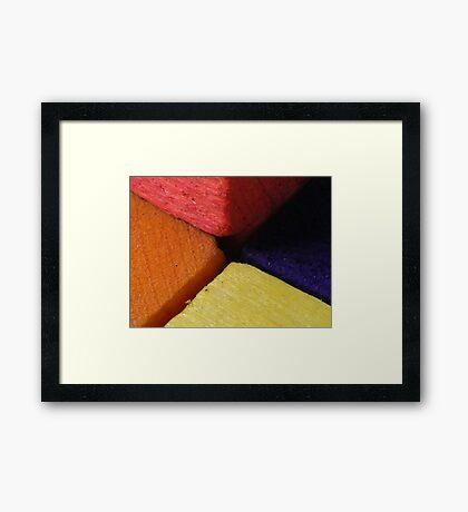 Corners. Framed Print