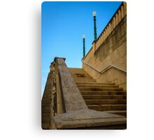 Staircase -Old San Juan  Canvas Print