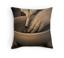Hands of the Master Throw Pillow