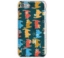 Geek Chic Cats iPhone Case/Skin