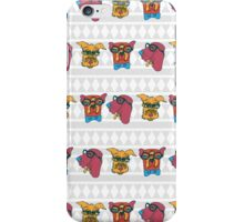Geek Chic Dogs iPhone Case/Skin