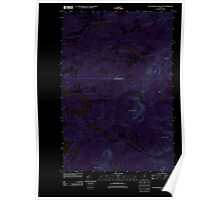 Maine USGS Historical Map Fifth Musquacook Lake 20110906 TM Inversion Poster