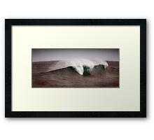The Break, Margaret River Framed Print