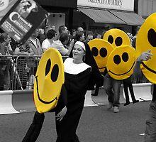 All happy bar Nun by Kevin Meldrum