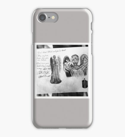 Weeping Angles : Don't Blink iPhone Case/Skin