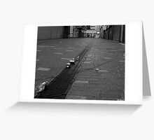 The morning after the night before. Greeting Card