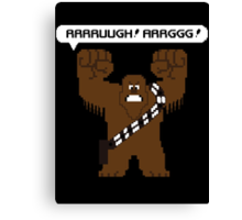 Rrrruugh! Arrggg! (Chewbacca) Canvas Print