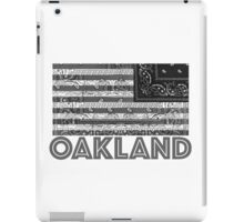OAKLAND, CA - Flagdana iPad Case/Skin