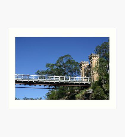 Hampden Bridge, Kangaroo Valley, NSW, Australia Art Print