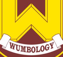 Wumbo University crest Sticker