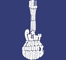 Play Those Chunky Chords White Unisex T-Shirt