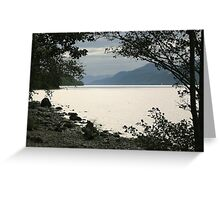 Loch Ness Dreaming Greeting Card