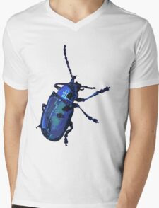 Water Beetle Mens V-Neck T-Shirt