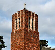 Frankston City St Paul Church Tower by Tom Newman