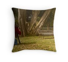 Artist and model . . .  Throw Pillow
