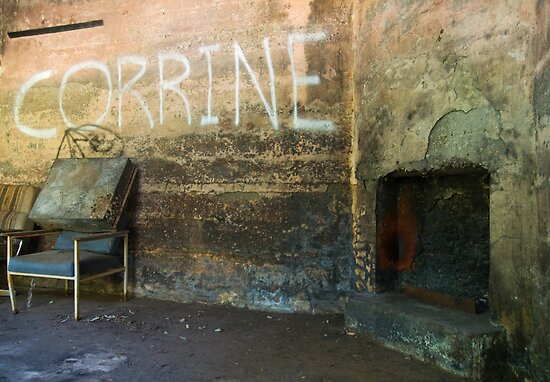 Corrine's Fireplace by agentsmith