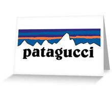Patagucci White Greeting Card