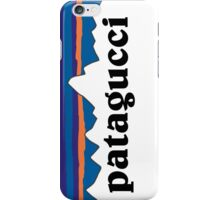Patagucci White iPhone Case/Skin