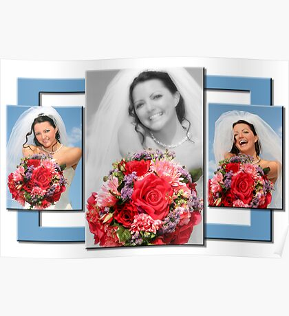 blissful bouquet Poster