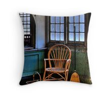 Frozen In Time - Gladesville Asylum - The HDR Experience Throw Pillow