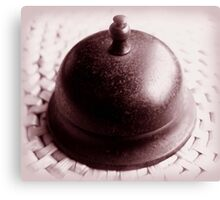 ring my bell ... Canvas Print