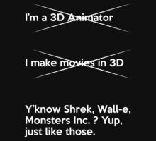 How to explain my job to normal people (3D Animation) by Maikii