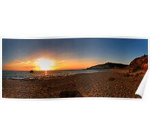 Sorrento Sunset Poster