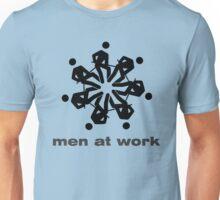 """Men at work"" flower / snowflake Unisex T-Shirt"