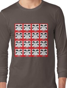Daruma Tee - Multitasking Squares Long Sleeve T-Shirt