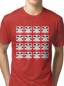 Daruma Tee - Multitasking Squares Tri-blend T-Shirt