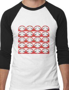 Daruma Tee - Multitasking Simple Men's Baseball ¾ T-Shirt
