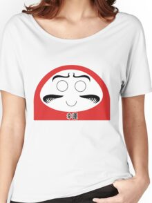 Daruma Tee - Simple Women's Relaxed Fit T-Shirt
