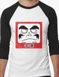 Daruma Tee - Square Men's Baseball ¾ T-Shirt