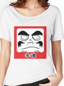Daruma Tee - Square Women's Relaxed Fit T-Shirt